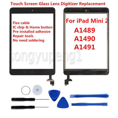 LCD Display+ Touch Screen Digitizer Replacement For Apple iPad Mini 2 Mini 3 Lot