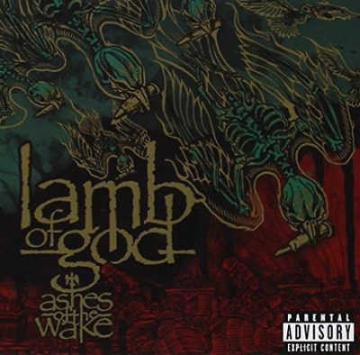 Lamb of God-Ashes of the Wake  CD NEW