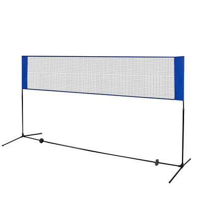 3M x 5FT Mini Badminton Net Tennis Nets Volleyball Net with Frame Stand Foldable