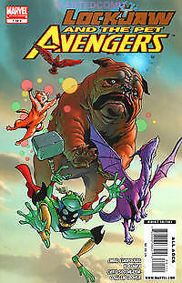 Lockjaw And The Pet Avengers #1 (Of 4) Marvel Comic Book New Lockheed Frog Thor