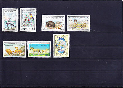 053718 Tiere Animals Afghan ** MNH - Lot
