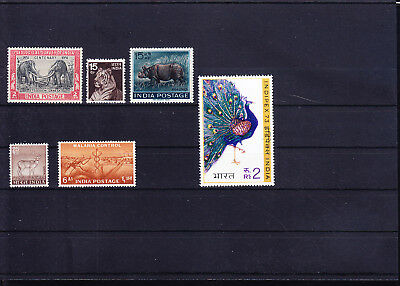 053743 Tiere Animals India ** MNH - Lot