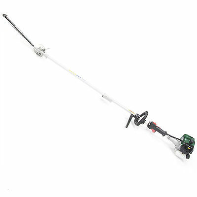 Webb PHT26 Split Shaft Long Reach Petrol Hedge Trimmer with 26cc 2 Stroke Engine