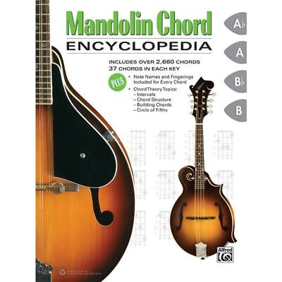 Alfred Music Alfred Music - Mandolin Chord Encyclopedia