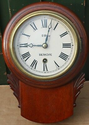 Very Smart & Very Small Or Miniature Wall Clock Similar To An Apprentice Piece