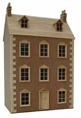 The Dartmouth Ready to Assemble Dolls House Unpainted 12th Scale Kit