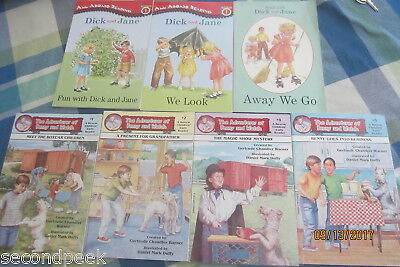 BOXCAR CHILDREN Benny and Watch & DICK AND JANE 7 Books Lot EUC Early Reader