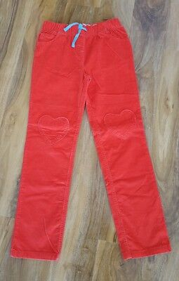 Mini Boden Heart Patch Gorgeous Girls Cord Trousers Size 11 years BRAND NEW.