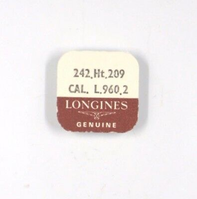 New Old Stock Longines L.960.2 Cannon Pin + Driving Wheel Ht.209 Watch Part #242