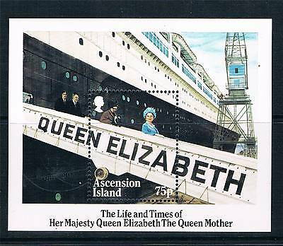 Ascension 1985 Queen Mother M.S.SG380 MNH