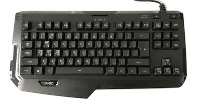 Logitech G410 ATLAS SPECTRUM Gaming Tastatur 920-007752 QWERTY LAYOUT (UK/RUS)