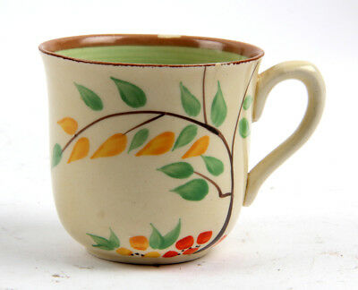 Clarice Cliff Art Deco Hand Painted Cup
