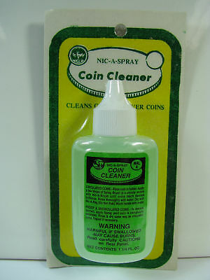 Nic-A-Spray Cleaner for Silver or Gold 1.25oz