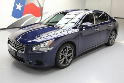 2014 Nissan Maxima  2014 NISSAN MAXIMA 3.5 SV SPORT TECH SUNROOF NAV 30K MI #457837 Texas Direct