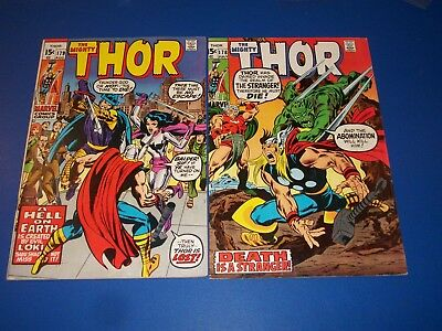 The Mighty Thor #178,179 Bronze age Stranger Abomination
