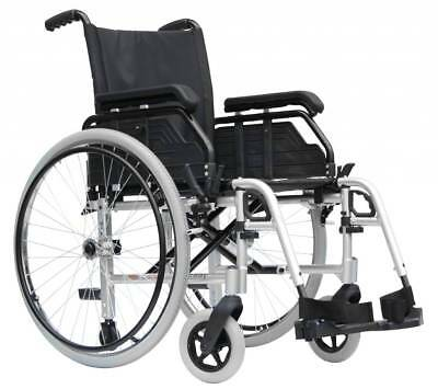Van Os Caremart Liteway Folding Wheelchair (with Footrests or Legrests)