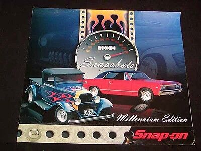 """SNAP-ON TOOLS Collectible CALENDAR for 2000 """"Snapshots"""", Antique Cars SNAP-ON"""