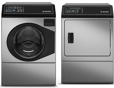 Speed Queen 10kg Washer + 9kg Electric/Gas Dryer Combo AFNE9BSS + ADEE9B/ADGE9B