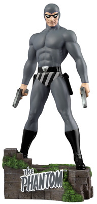 """Ikon Collectables--The Phantom - Ghost Who Walks 12"""" Statue - GREY"""