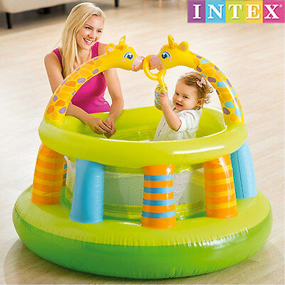 Intex 48474 Baby Laufstall Laufhilfe Laufgitter Activity Center Kinder Spiel