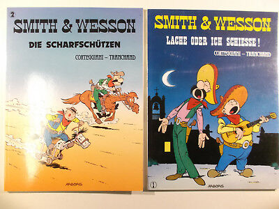 Smith & Wesson # 1 + 2 komplett ( ARBORIS, Softcover )