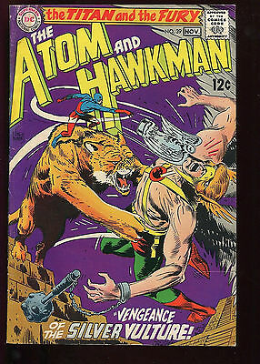 The Atom Lot 32, 36, 39 Hawkman Silver Age Gil Kane Murphy Anderson Good 2.0