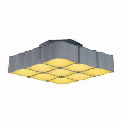 ET2 E24122-MW Billow 9 Light LED Flush Mount Ceiling Fixture