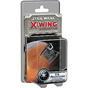 Miniatures--Star Wars - X-Wing Miniatures Game - TIE Aggressor Expansion Pack