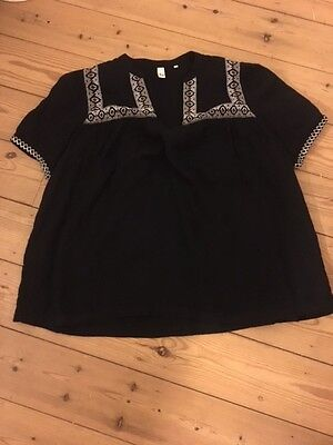 AND/OR women's top black Size 16