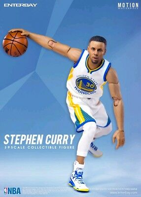 "8""-10"" Figures--NBA - Stephen Curry 1:9 Scale Action Figure"