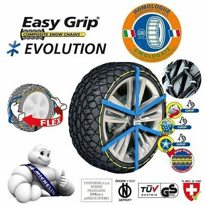 Catene Da Neve Michelin Easy Grip Evolution Evo 14 Misura 235/55-18 235/55 R18