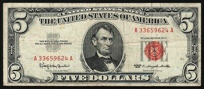5 Dollars From USA 1963 M8