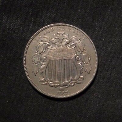 1867 Shield Nickel 5¢- BU