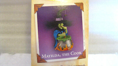 2004 Hallmark MATILDA, THE COOK Halloween WITCH THE MANSION ON RAVENSWOOD Motion