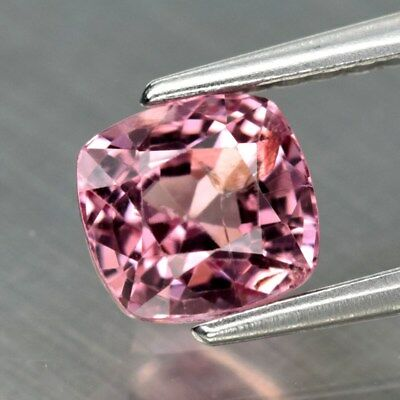 1.02ct 5.4x5mm Cushion Natural Pink Spinel, M'GOK