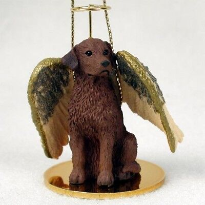 Chesapeake Bay Retriever ANGEL Tiny One Ornament Figurine Statue