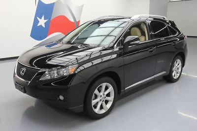 2011 Lexus RX Base Sport Utility 4-Door 2011 LEXUS RX350 PREMIUM LEATHER SUNROOF REAR CAM 74K #051634 Texas Direct Auto