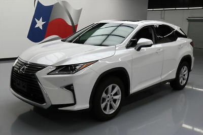 2016 Lexus RX Base Sport Utility 4-Door 2016 LEXUS RX350 CLIMATE SEATS SUNROOF REAR CAM 6K MI #014146 Texas Direct Auto