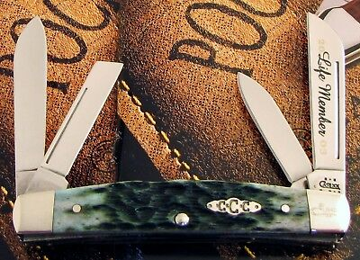 Case Congress Knife 2003 Issue Case Collectors Club 4 Blade Mint With COA! NR