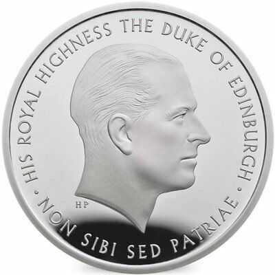 "2017 United Kingdom (UK) £5 Silver Proof Coin ""Prince Philip, A Life of Service"""