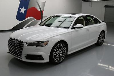 2017 Audi A6 Premium Plus Sedan 4-Door 2017 AUDI A6 2.0T PREM PLUS AWD S LINE SUNROOF NAV 12K #012914 Texas Direct Auto