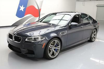 2014 BMW M5 Base Sedan 4-Door 2014 BMW M5 EXECUTIVE SUNROOF NAV HUD CLIMATE SEATS 29K #097221 Texas Direct