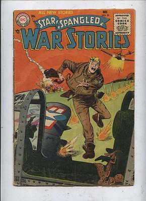 Star Spangled War Stories 38 Dc silver age comic Kubert  art