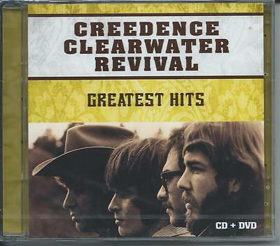 Creedence Clearwater Revival - Greatest Hits (CD & DVD) NEW/SEALED