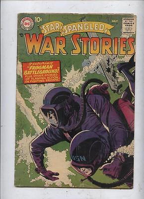 Star Spangled War Stories 59 Dc silver age comic Russ heath & Joe Kubert(?)  art
