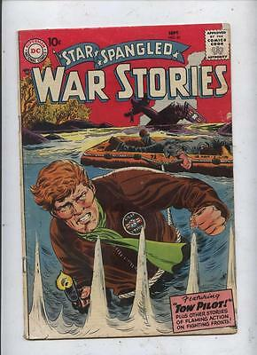 Star Spangled War Stories 61 Dc silver age comic Joe Kubert(?)  art