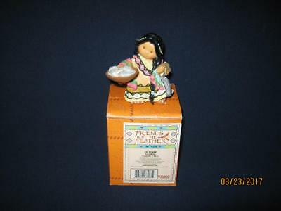 Enesco Friends Of The Feather-October Figurine-With Box-#677620