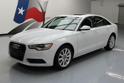 2014 Audi A6 Premium Plus Sedan 4-Door 2014 AUDI A6 PREMIUM PLUS AWD SUNROOF HTD SEATS NAV 33K #069746 Texas Direct