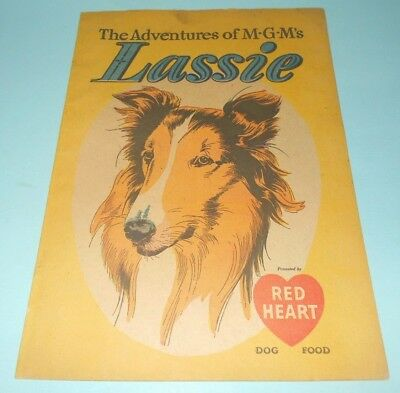 1949 Red Heart Dog Food Promotional Lassie Comic Book, 1st Lassie in Comic Books