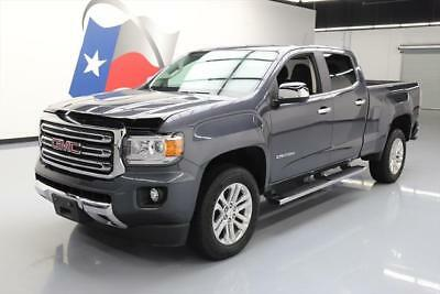 2015 GMC Canyon SLT Crew Cab Pickup 4-Door 2015 GMC CANYON SLT CREW HTD LEATHER BLUETOOTH 9K MILES #217927 Texas Direct